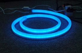 Neon Flex BLUE High Voltage 230v